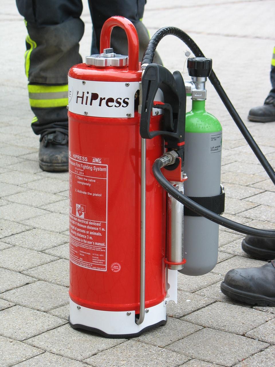 Hochdruckfeuerlöscher